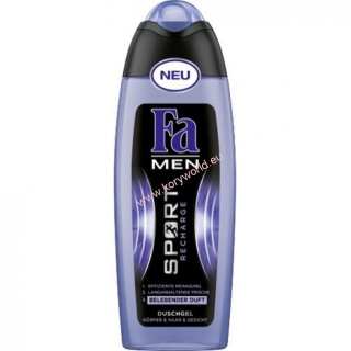 FA MEN SPORT RECHARGE sprchový gél 250ml